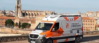Ambulancias Finisterre incorpora una nueva UVI móvil Mercedes-Benz Sprinter